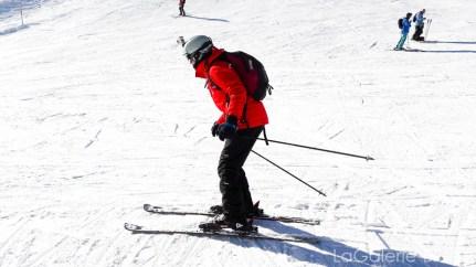 position skieur en avant