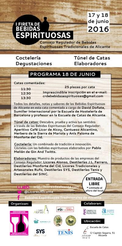 Primera Fireta de Bebidas Espirituosas de Alicante