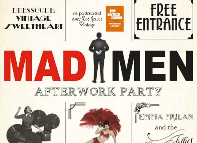 Mad Men afterwork party
