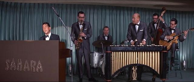 Frank Sinatra et Dean Martin dans Oceans 11