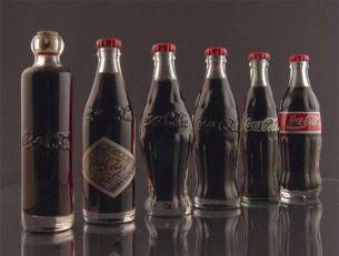 Les bouteilles Coca Cola de 1899 à 1986