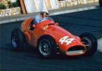 Grand Prix de Monaco 1955 - Maurice Trintignant vainqueur sur Ferrari
