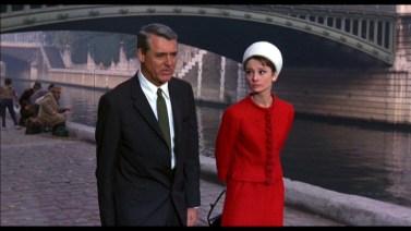 Cary Grant et Audrey Hepburn dans Charade - 1963