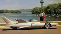Firebird III avec son moteur à turbine à gaz