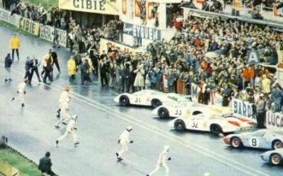 24h du Mans et son départ en épi
