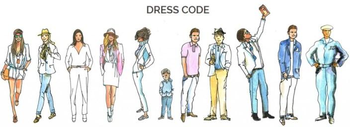 Dress code La Mans Classic