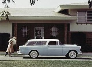 Chevrolet Bel Air Nomad Wagon - 1955