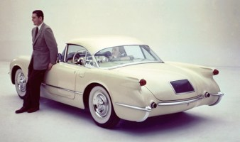 Corvette coupé - 1954