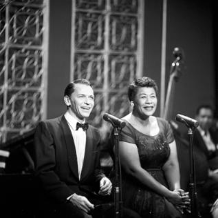ELLA FITZGERALD Frank-Sinatra-and-Ella-Fitzgerald-on-The-Frank-Sinatra-Show-1958