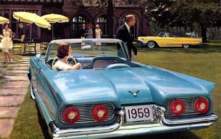 Ford Thunderbird - 1958