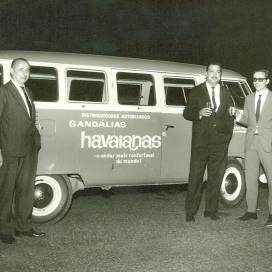 Van Havaianas en 1964