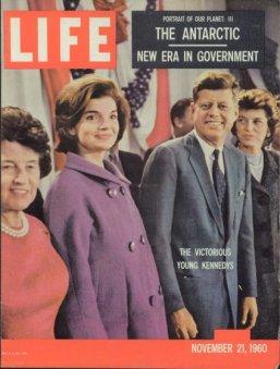 Couverture du 21 novembre 1960