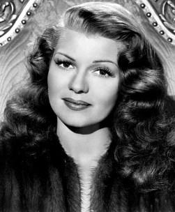 Rita Hayworth en 1945