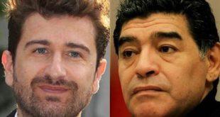 Alessandro Siani e Maradona