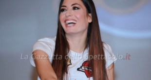 Elisabetta Gregoraci in conferenza a Made in Sud