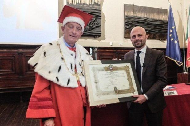 Luca Abete professore Ad Honorem