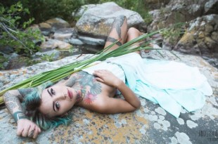Felisja Piana, Suicide Girl per Eles. Foto di Angelica Gardani.