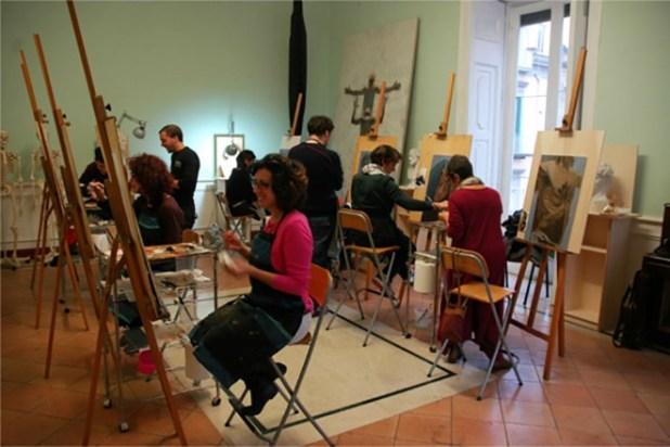 Notte di Venere alla scuola In form of Art. Foto da evento su pagina Facebook