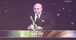 Paolo Virzì su Sky per la vittoria come miglior regista ai David di Donatello 2017