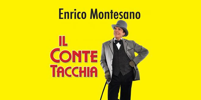 Enrico Montesano è il Conte Tacchia