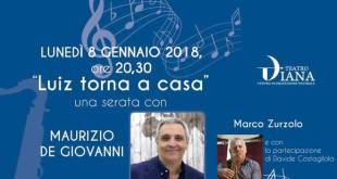 Luiz torna a casa con Maurizio De Giovanni