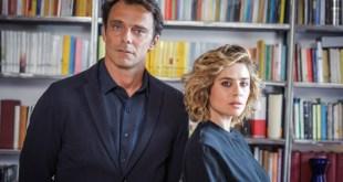 Alessandro Preziosi e Greta Scarano protagonisti di Non Mentire. Foto di Fabrizio Di Giulio