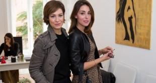 Alla presentazione di Pcare, Samanta Piccinetti e Miriam Candurro