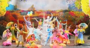 Mary Poppins - Il Musical. Foto di Alessandro Pinna