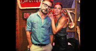Claudia Ruffo e Mimmo Esposito al Bruttini. Foto di Fabrizio Cracolici