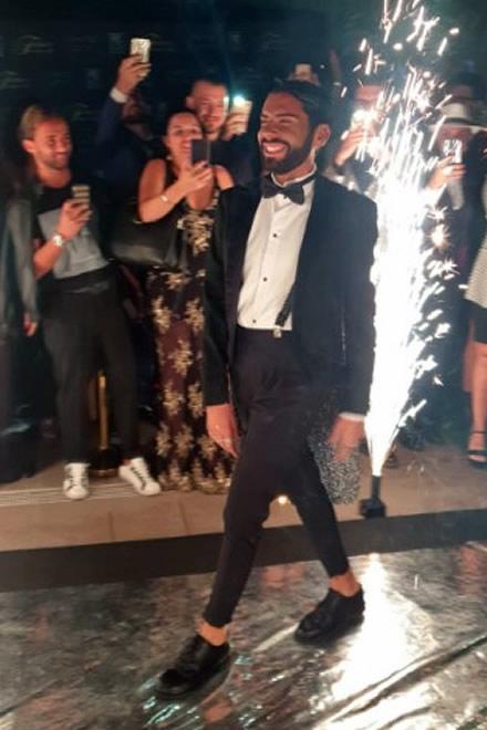 L'arrivo di Federico Fashion Style al suo compleanno di 30 anni