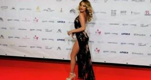Tanya La Gatta sul red carpet di Miss Europe Continental