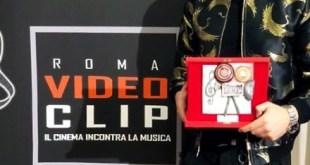 Virginio con il Premio Roma Videoclip - Rivelazione 2019