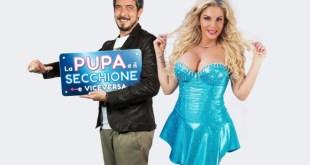 Paolo Ruffini e Francesca Cipriani conducono La Pupa e il Secchione e Viceversa