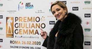 Asia Argento al Premio Giuliano Gemma. Foto di Claudia D'Acunzo e Giancarlo Fiori
