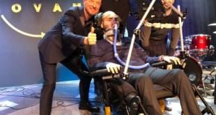 Paolo Palumbo a Sanremo con Amadeus