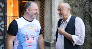 Marco Melluso e Ivano Marescotti. Foto di Andrea Ranzi