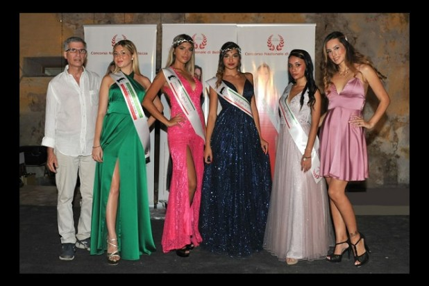 Miss Venere 2020 - Fabrizio Dia, Valeria Giannotta, Antonella Montalbano, Silvia Prestigiacomo, Kiara Ferretta