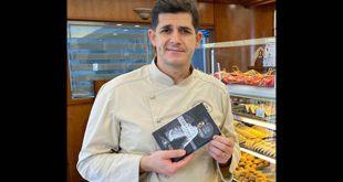 Francesco Di Rosa con il libro Cervello in moto perpetuo