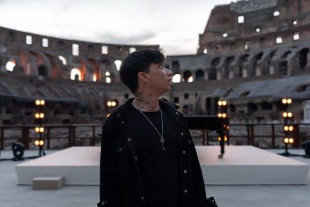 Ultimo al Parco Archeologico del Colosseo. Foto da Ufficio Stampa