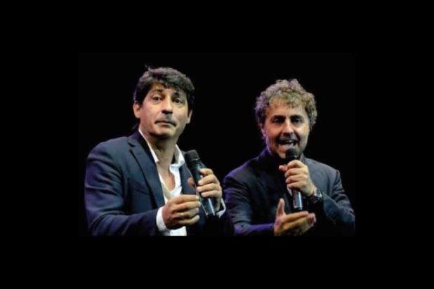 Emilio Solfrizzi ed Antonio Stornaiolo. Foto dal Web