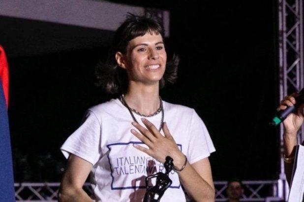 La vincitrice Serena Visconti
