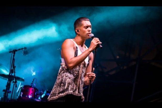 Mahmood live a Benevento Città Spettacolo. Foto di Alessia Giallonardo