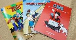 Alcuni dei fumetti presentati
