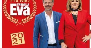 Beppe Convertini e Iva Zanicchi per il premio Eva3000