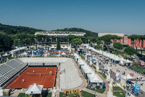 Foro Italico di Roma - Location storica per il Tennis e Friends