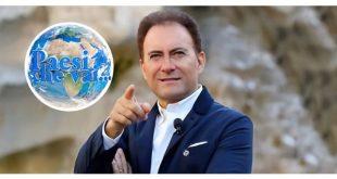 Livio Leonardi conduttore di Paesi che vai su Rai 1
