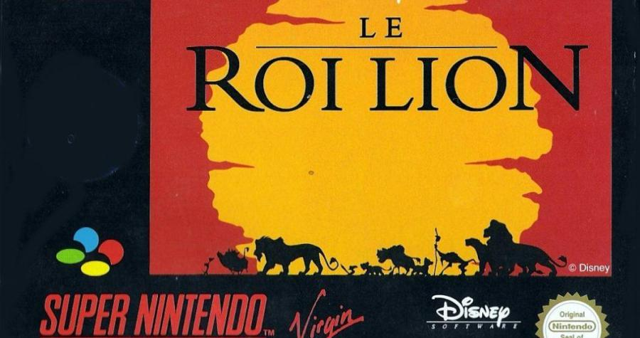 le roi lion super nes snes
