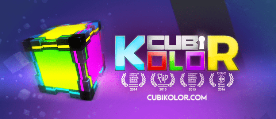 Cubikolor Moving Player Fractal Box Test Jeu Video La Geek En Rose
