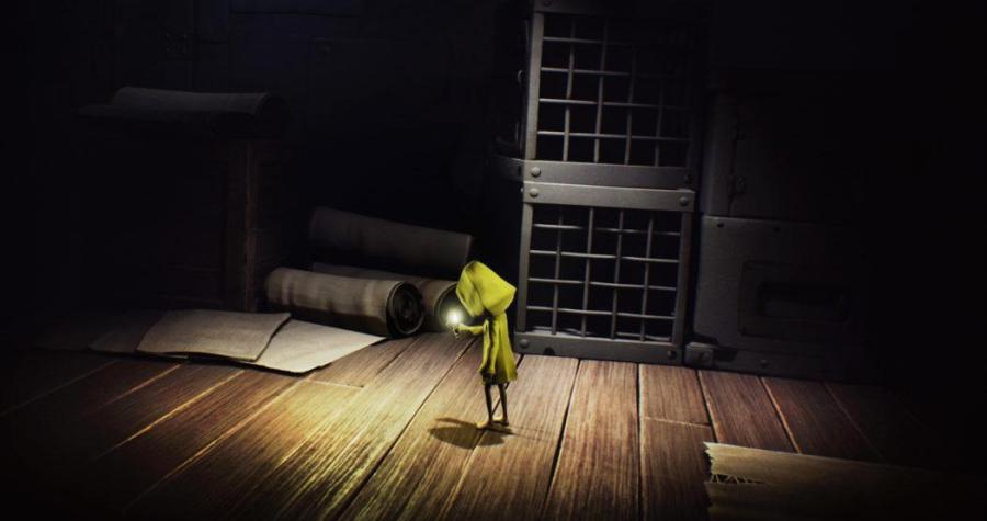 Little Nightmares Six alone