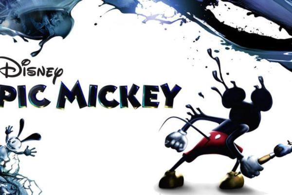 Epic Mickey, un jeu de plateforme et d'aventure Disney sombre à repeindre !
